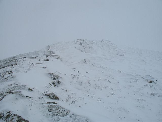 Quartzite ridge, Carn Fiachlach