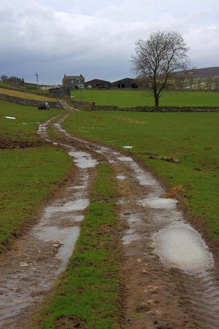 Bridleway to Nun Cote Nook