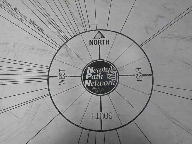Kinpurney Hill Summit Indicator