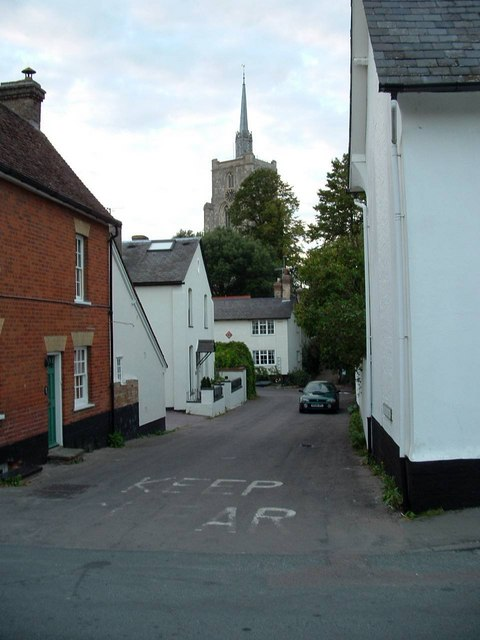 A back lane, Ashwell