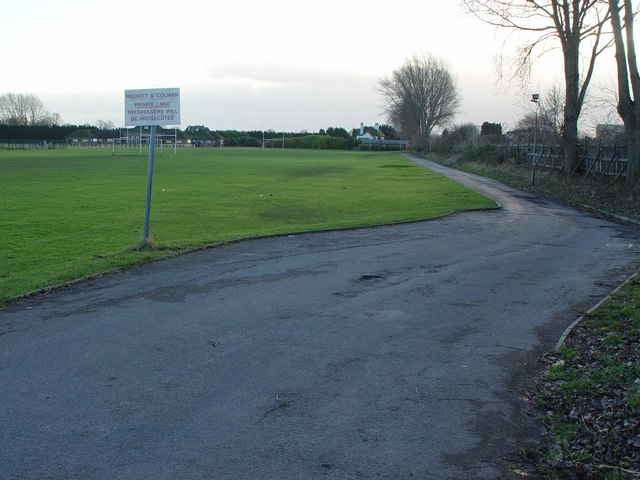 Reckit and Colman Playing Field