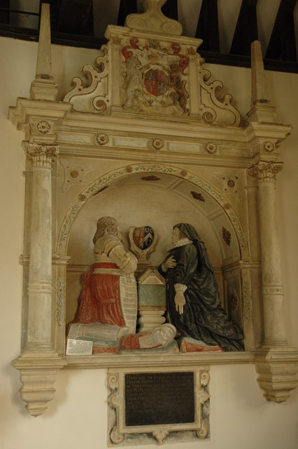 Percy tomb, Dumbleton Church