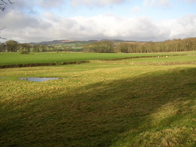 View from the rear of Beamsley Hospital, Beamsley