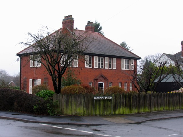 The first house on Hamilton Drive (25 December 2007)