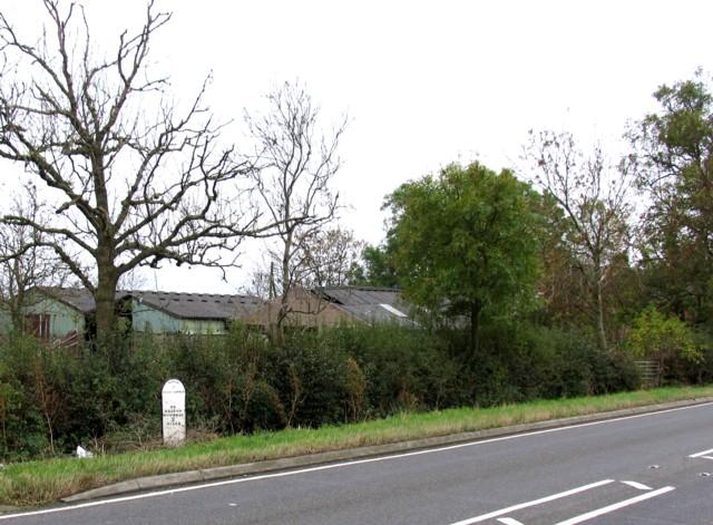 Ashleigh and milepost