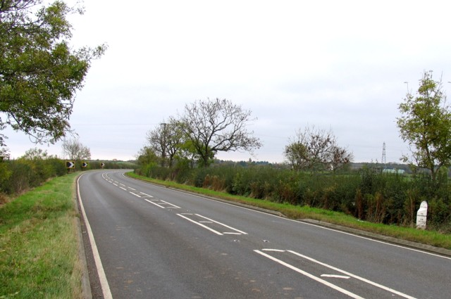 A607 towards Grantham