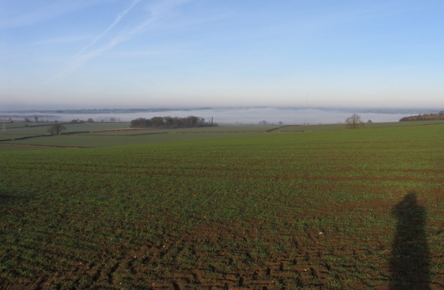Sea of Mist seen from Hose Hill