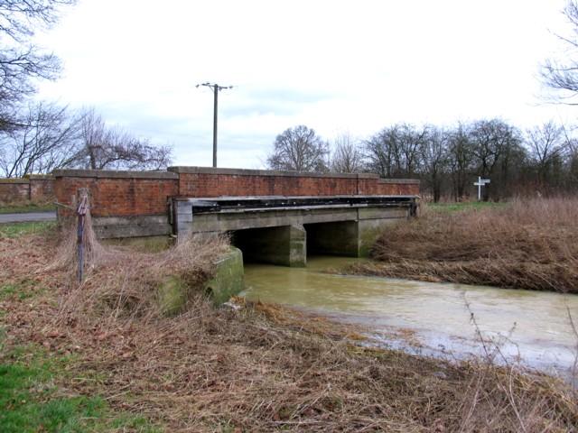 Whissendine Brook passes beneath Holygate Road