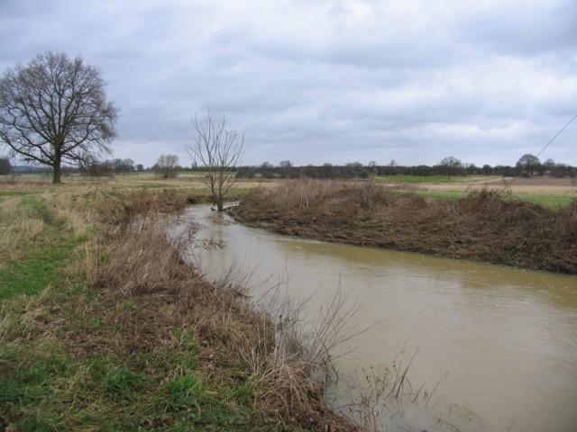 Whissendine Brook towards Stapleford
