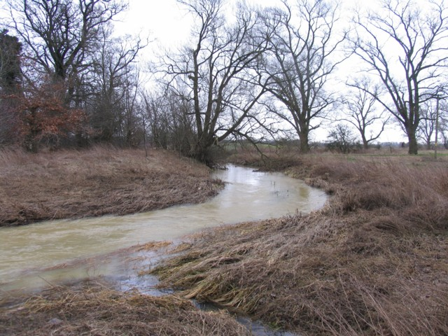 Whissendine Brook towards Whissendine