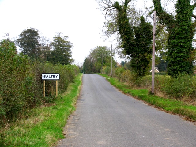 Saltby from the north