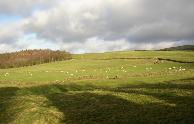 View from the rear of Beamsley Hospital, Beamsley