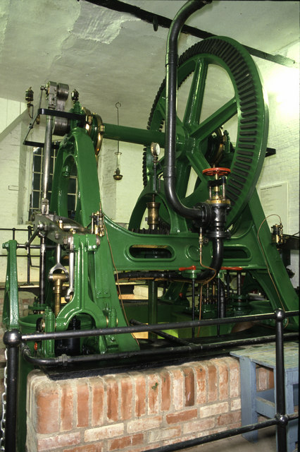 Steam pumping engine Westonzoyland