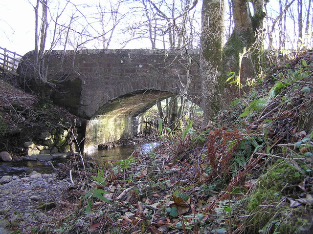 Keltie Bridge over Keltie Burn