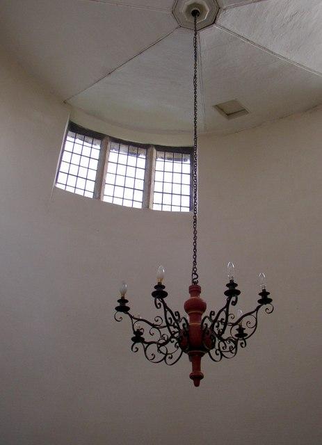 Detail of the chapel of Beamsley Hospital, Beamsley