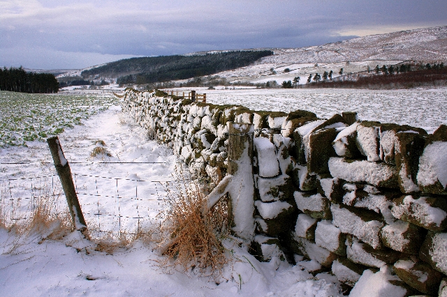 Stone Wall, Top of Raisdale