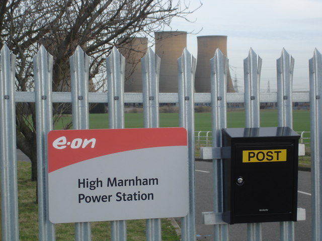 Former Entrance to High Marnham PS