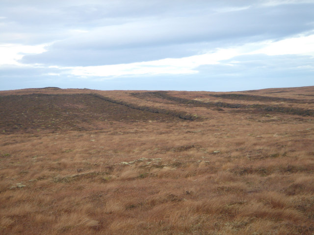 Peat banks on Dunnet Head
