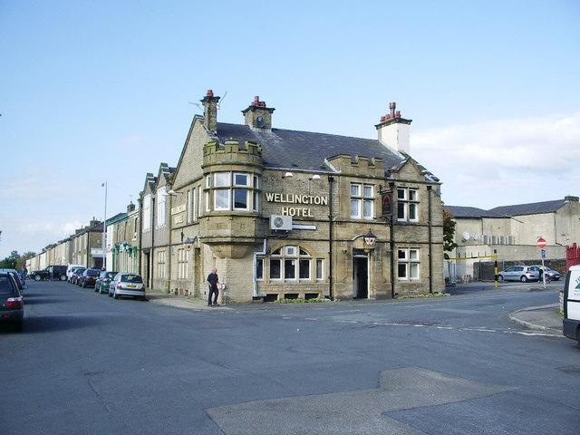 Wellington Hotel, Barns Square, Clayton-le-Moors