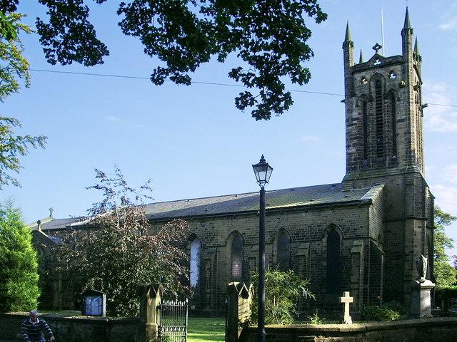 All Saints Church, Clayton-le-Moors