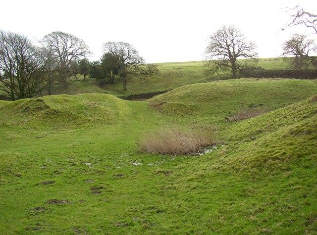 Former bridle road, Hawpike Farm, Draughton