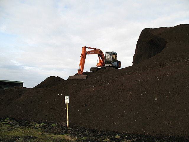 Moving the peat