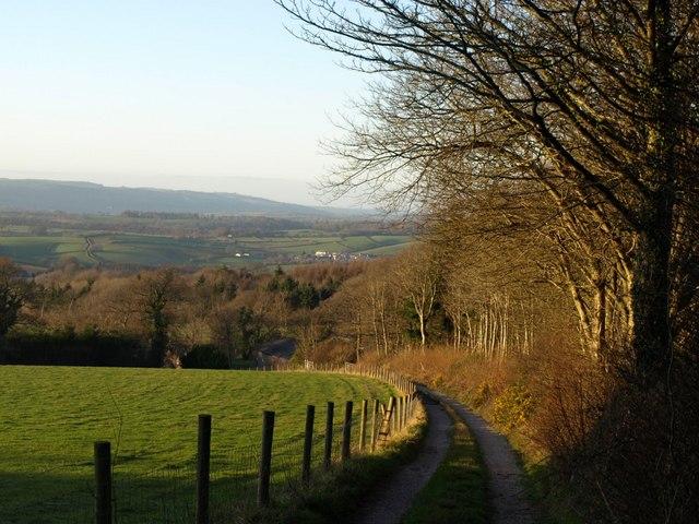 Track to Westerland Cottage