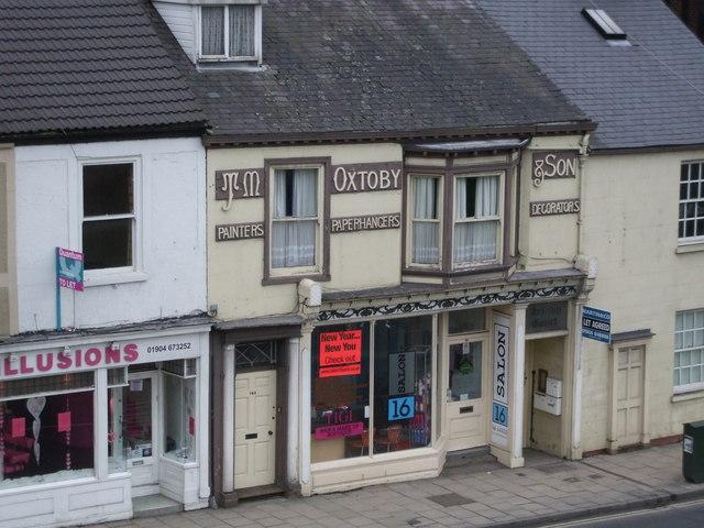 19thC Shop on Fishergate