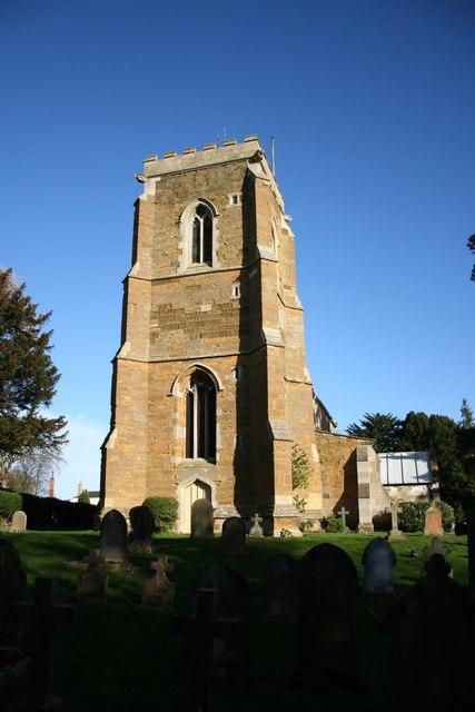 All Saints' church tower