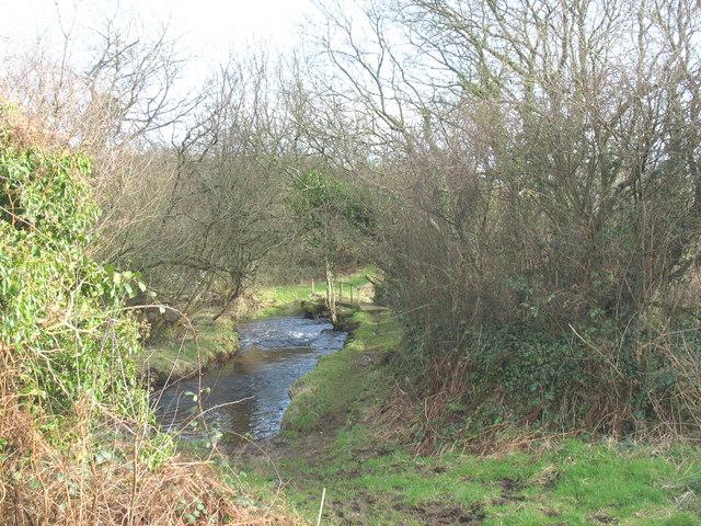 Afon Rhyd-hir near Hendre Penprys
