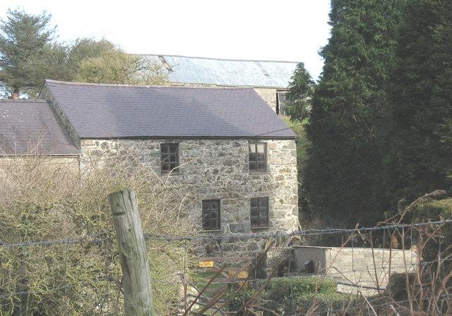 The former Bodeilian corn mill