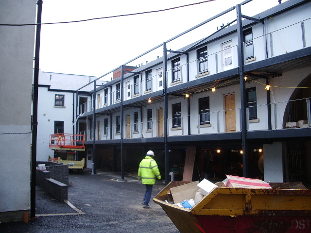 New development on St Georges Road, Bolton