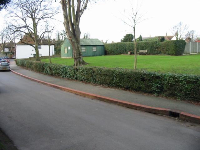 The recreation ground on Church Street
