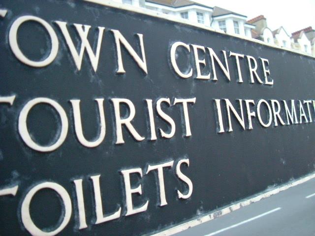 Eastbourne Promenade - sign