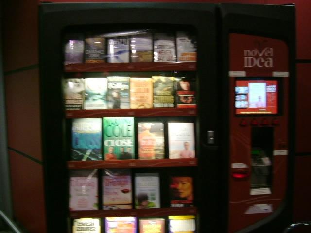 Heathrow Airport - terminal 3 departures vending machine