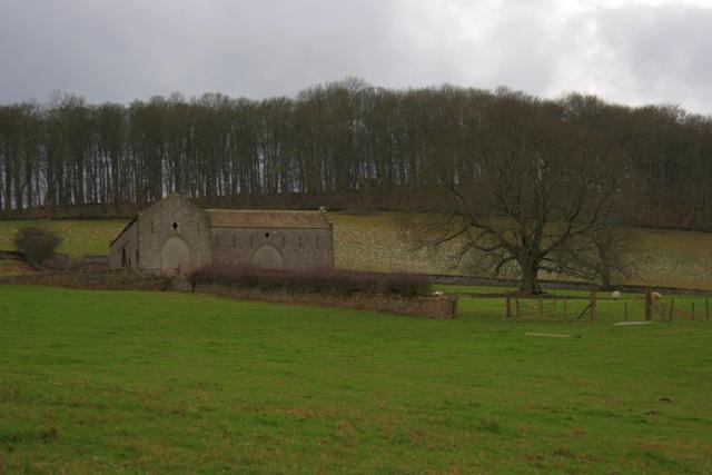 Barn Below Deer Park Wood