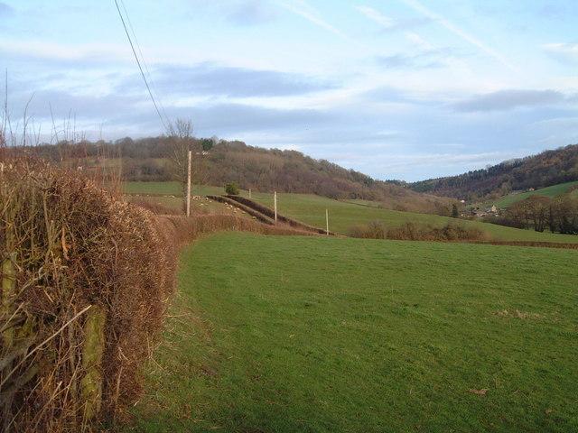 View towards Llanvair from near Maerdy