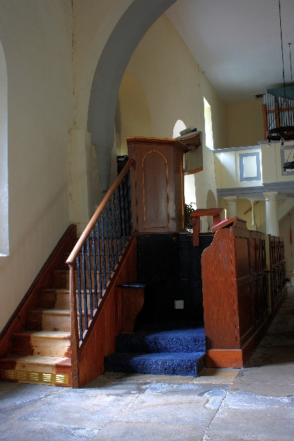 Interior of St. Edmund's Church