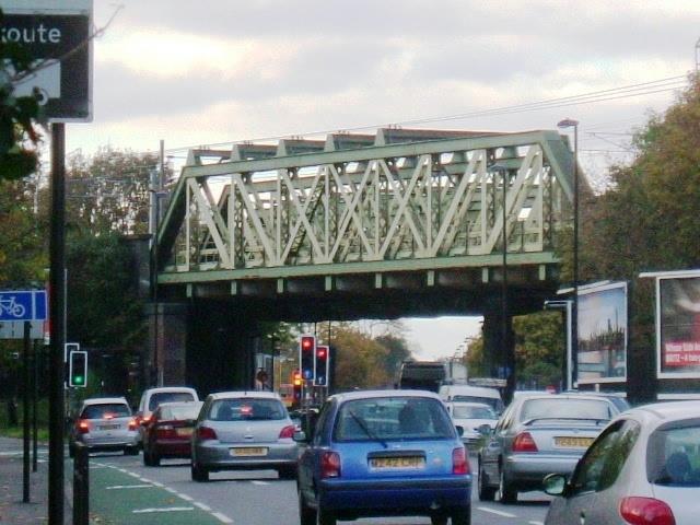 Iron Bridge, Uxbridge Road - Southall