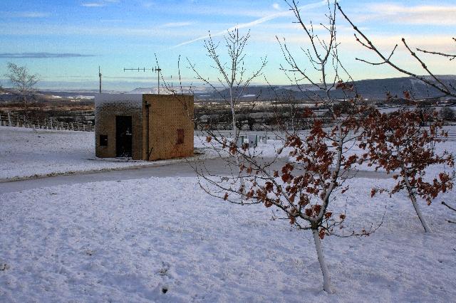 Control Building for Reservoir