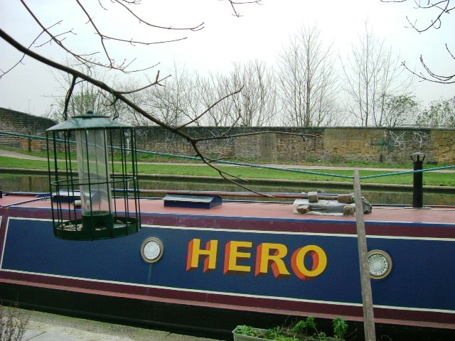 Houseboat on the Grand Union Canal, W10