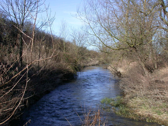 River Granta below Hauxton Mill