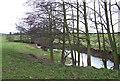 SO5184 : River Corve at Lawton, Shropshire by Roger  Kidd