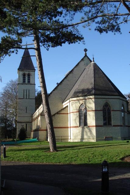 Former church for Fairfield Hospital