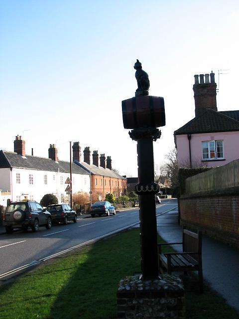 Church Street through Old Catton