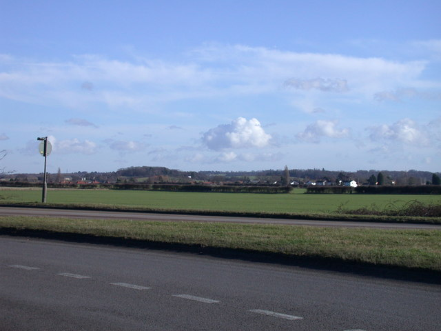 View east from Hauxton Road