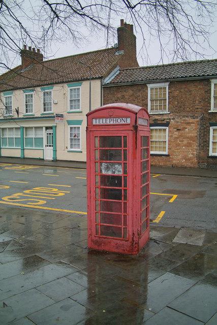 K6 Red Telephone Box, Barrow Upon Humber