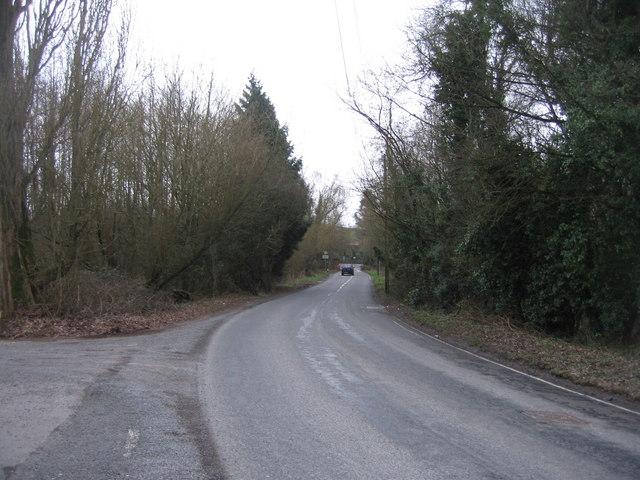Basing Road in winter