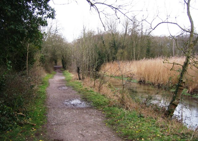 Footpath along the River Loddon