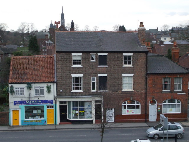Shops and offices on Nunnery Lane